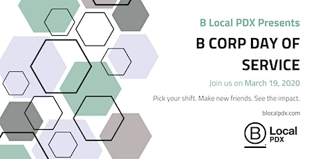 2020 B Corp Day of Service: Portland! tickets