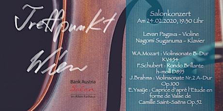 Treffpunkt Wien - Salonkonzert Tickets