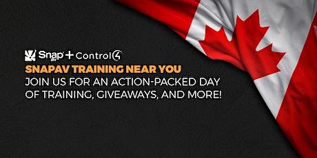 Snap AV + Control4 Training - Toronto Session 1 tickets
