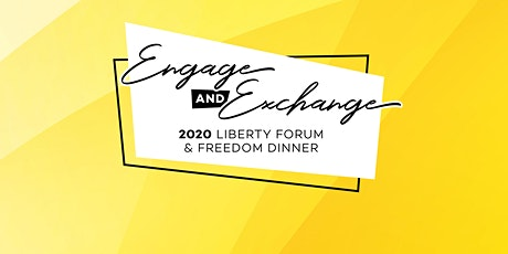 Liberty Forum and Freedom Dinner 2020 tickets