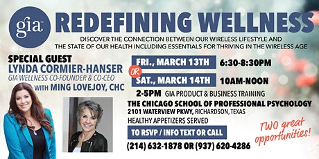 REDEFINING WELLNESS: Connecting the Dots and Thriving in the Wireless Age tickets