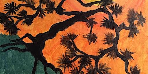 Bonsai Paint & Sip Night - Art Painting, Drink & Food