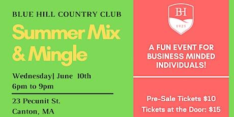 Summer Mix & Mingle tickets