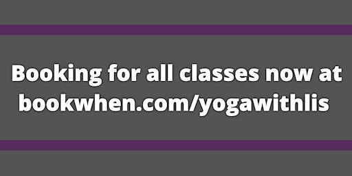 Yoga with Lis - Monday Evening Hatha Yoga Class