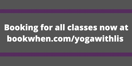 Yoga with Lis - Wednesday Morning Hatha Yoga Class
