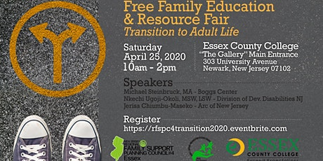 Transition to Adult Life Family Education and Community Resource Fair tickets