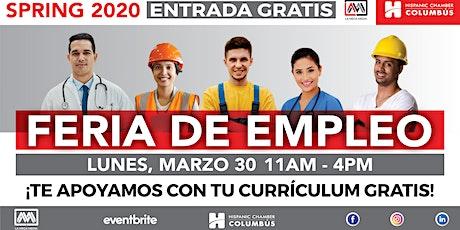 La Mega Feria de Empleo Hispana tickets