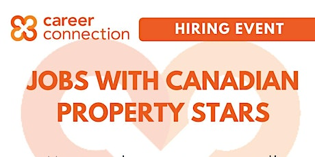 HIRING EVENT - Canadian Property Stars tickets