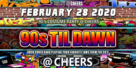 90's Night and Costume Party at @Cheers tickets