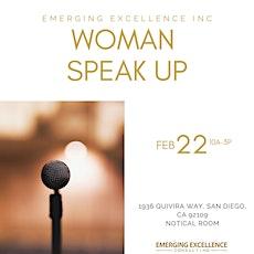 Woman Speak up Workshop 1.0 tickets
