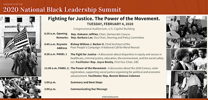The CBC 2020 National Black Leadership Summit: An Emergency Convening image