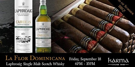 End of Summer Bash I La Flor Dominicanan I Laphroaig Single Malt Scotch tickets