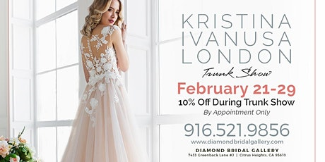 Kristina Ivanusa London Trunk Show tickets