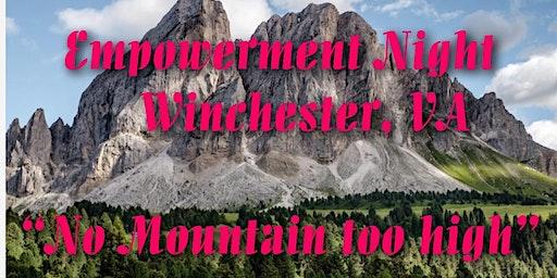 "Empowerment Night Events : ""No Mountain too High Series"""