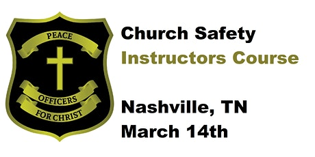 Safety in the Church INSTRUCTOR course Nashville tickets