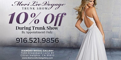 Mori Lee Voyage Collection Trunk Show