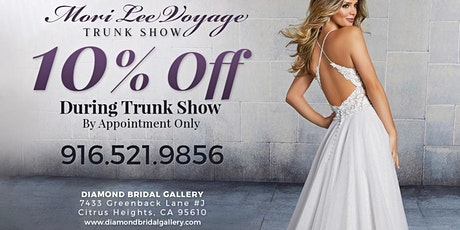 Mori Lee Voyage Collection Trunk Show tickets