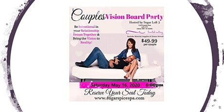 Couples Vision Board Party tickets