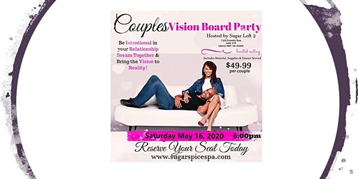Couples Vision Board Party