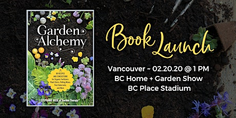 Garden Alchemy Book Launch tickets