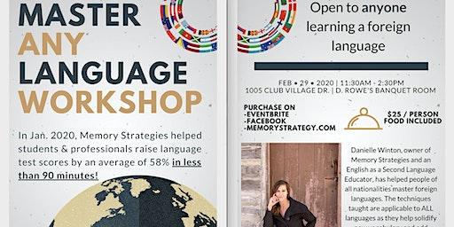 Master ANY Language Workshop