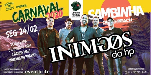CARNAVAL 2020 SAMBINHA COM INIMIGOS DA HP