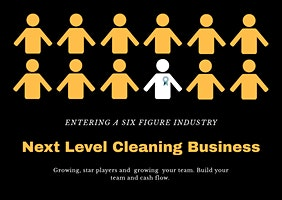 Next Level Cleaning Business. Hire, Maintain and Build