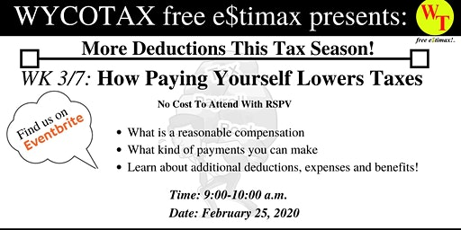 Part 3/7: How Paying Yourself Lowers Taxes