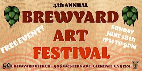 4th Annual Brewyard Art Festival tickets