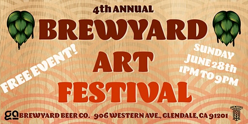 4th Annual Brewyard Art Festival