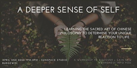 A Deeper Sense Of Self tickets