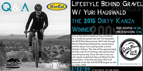 Nor Cal Fundraiser with Yuri Hauswald / Ride and Presentation  tickets