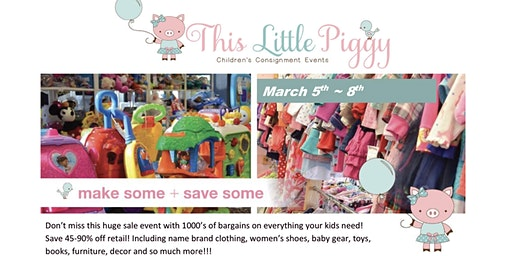 This Little Piggy's Spring 2020 Event
