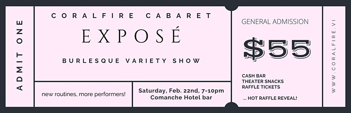 CoralFire Burlesque & Variety Show: Expose image