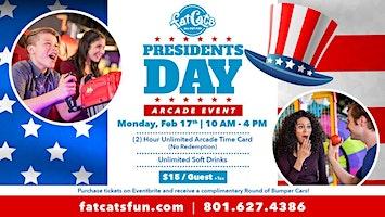 President's Day Arcade Event