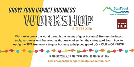 Grow Your Impact Business - Tauranga