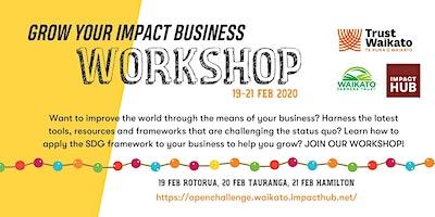 Grow Your Impact Business - Hamilton