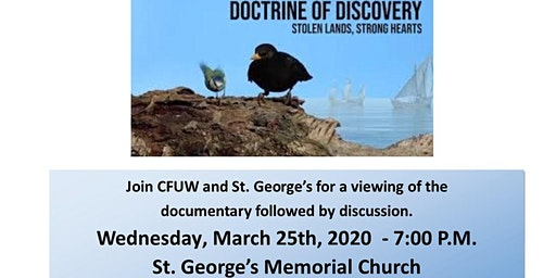 Doctrine of Discovery - viewing and discussion