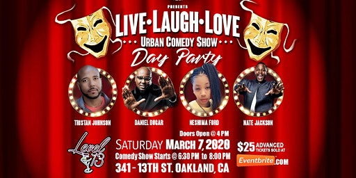 """Live Love Laugh Urban Comedy Show"""