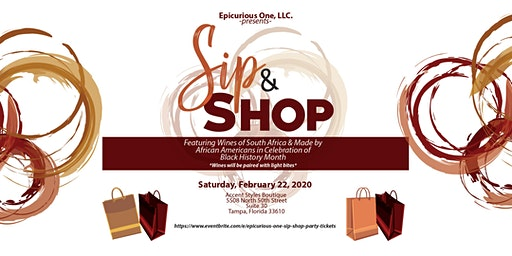 Epicurious One - Sip & Shop Party