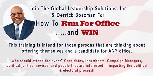 How to RUN for office and WIN