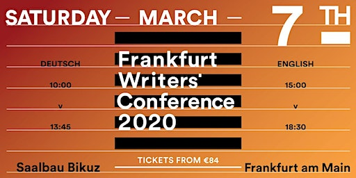 Frankfurt Writers' Conference 2020