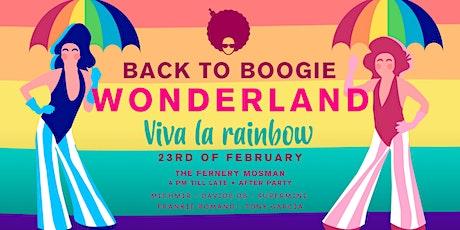 Back to Boogie Wonderland presents Viva La Rainbow tickets