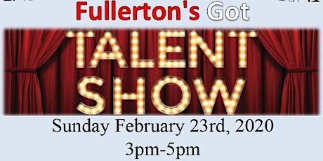 Fullerton's Got Talent Show tickets