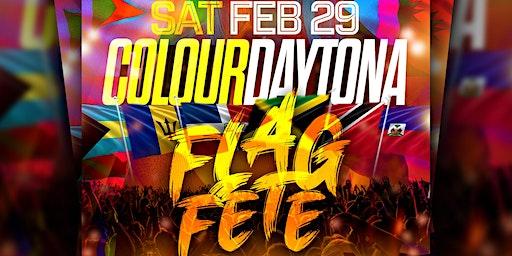 Colour Daytona Flag Fete Paint Party