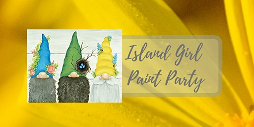 Island Girl Paint Party at Bad Dog Distillery