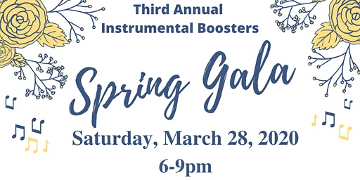 Third Annual Instrumental Music Boosters Spring Gala