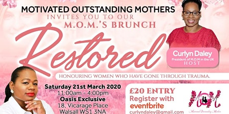 Motivated Outstanding Mothers (M.O.M.'s BRUNCH) tickets