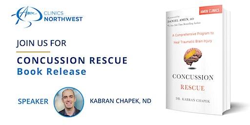 Concussion Rescue Book Release