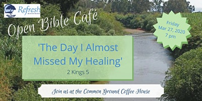 March 2020 Open Bible Café
